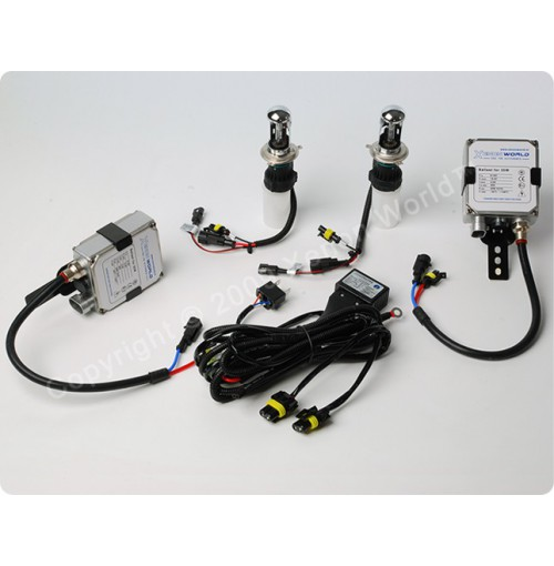 H4-3 Bi HID - XENON WORLD CONVERSIE KIT